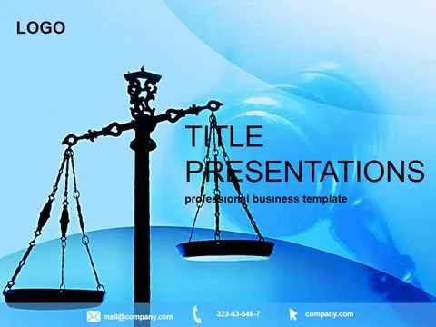 Justice court powerpoint template pptx presentation youtube toneelgroepblik Image collections