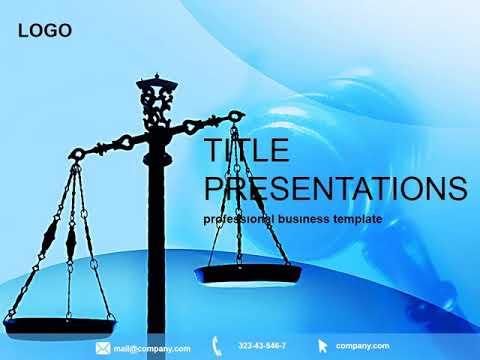 Justice court powerpoint template pptx presentation youtube toneelgroepblik Images