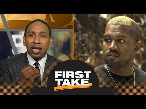 Stephen A. Smith strongly reacts to Kanye Wests slavery comments on TMZ | First Take | ESPN