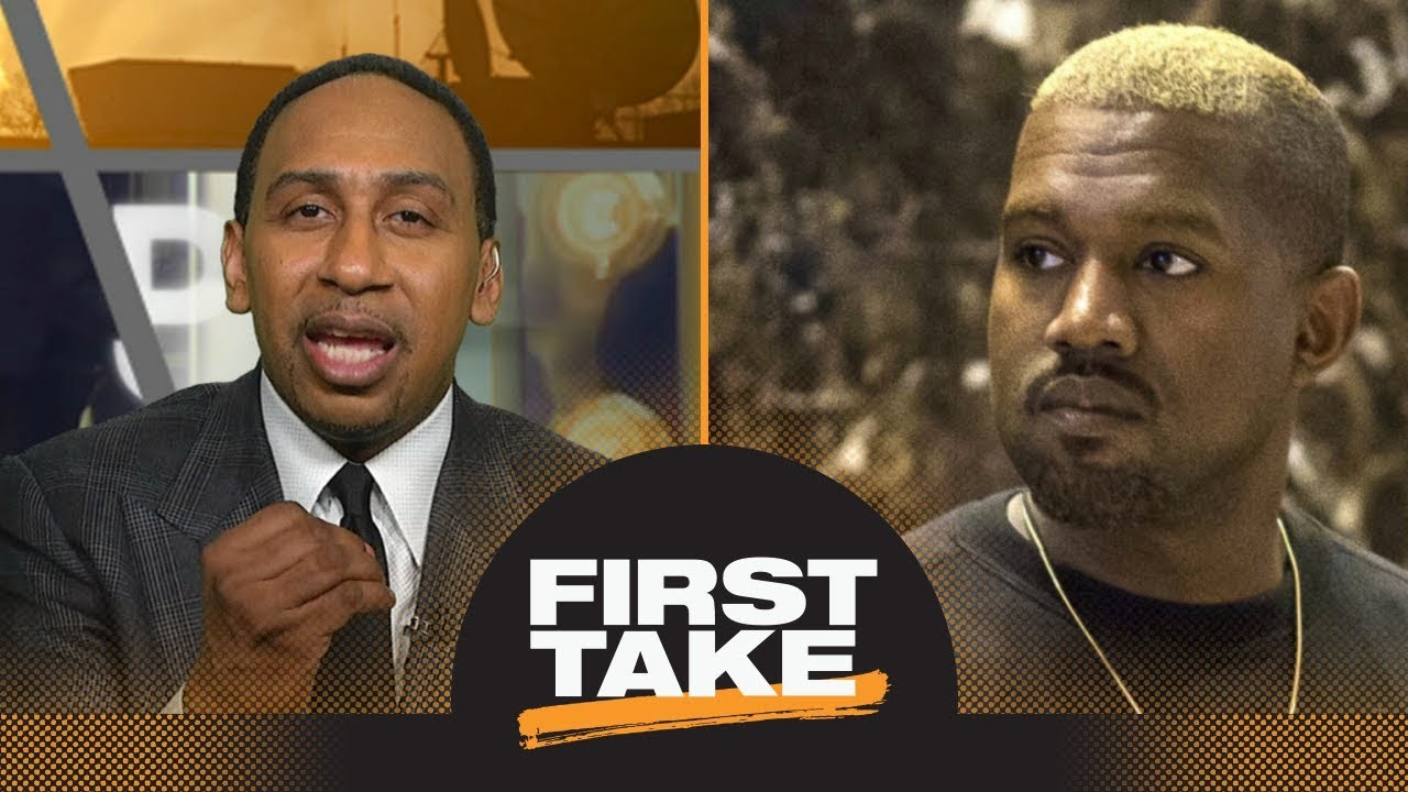 Stephen A. Smith strongly reacts to Kanye West's slavery comments