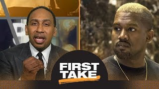 Stephen A. Smith strongly reacts to Kanye West's slavery comments on TMZ | First Take | ESPN thumbnail