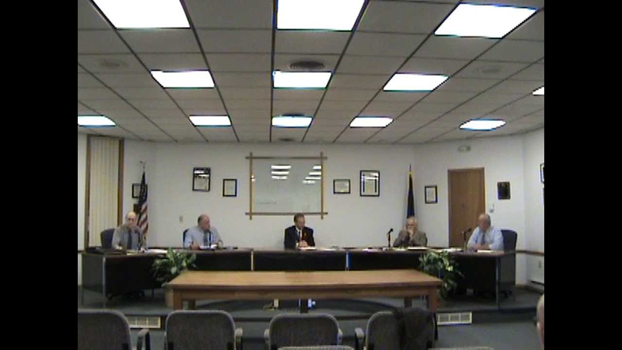 Rouses Point Village Board Meeting  10-16-17