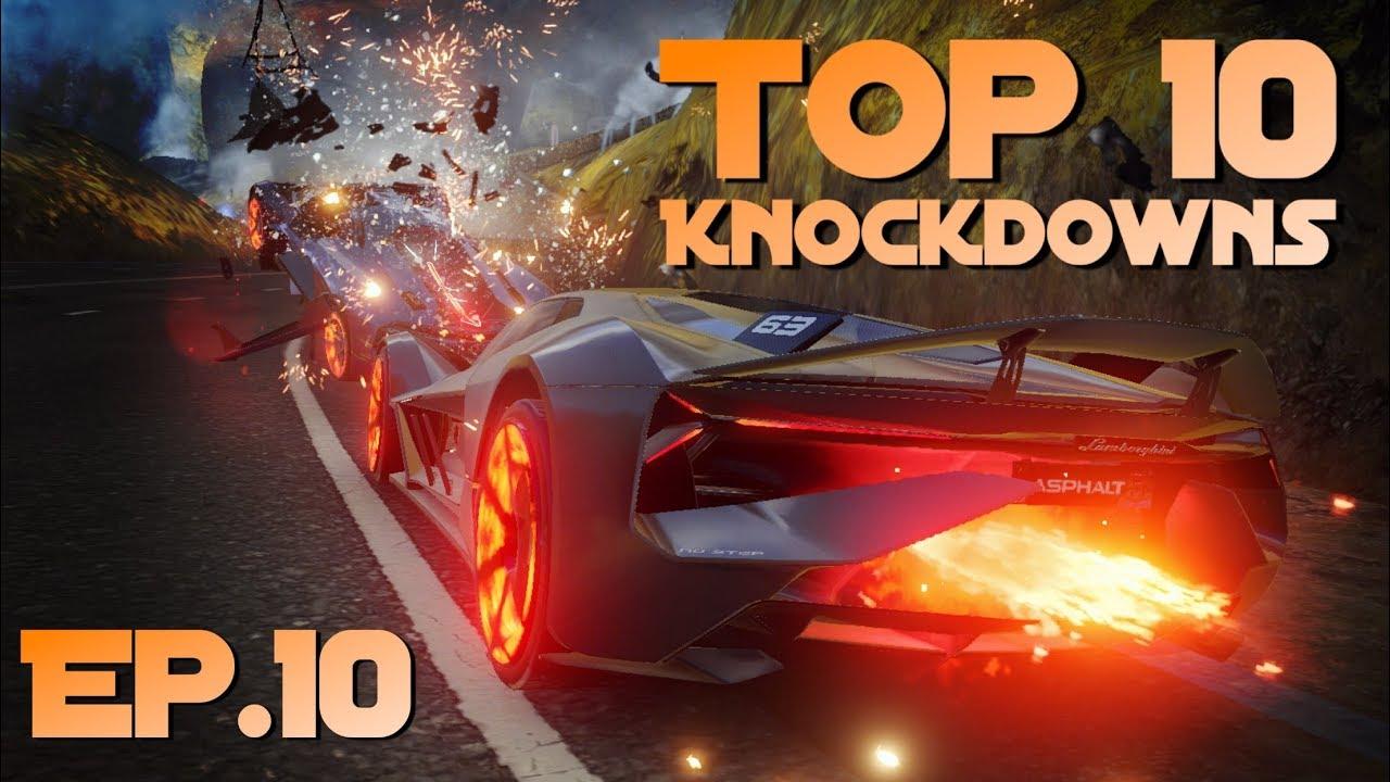 Download Asphalt 9 - Top 10 Knockdowns in MP (Aventador Series) - Episode 10