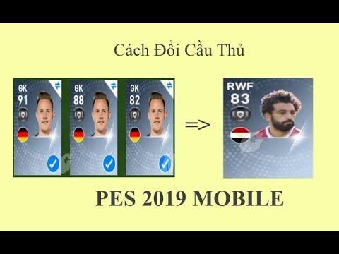 PES 2019 MOBILE | Ghép 3 Cầu Thủ Lấy 1 Cầu Thủ Ngon | Gaming Namx