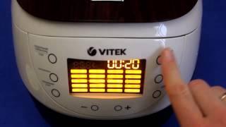 Рецепт приготовления пшенной каши на молоке в мультиварке VITEK VT-4217 BN