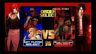The King of Fighters Collection: The Orochi Saga PS4 KOF '98 Arcade Mode Team Fatal Fury