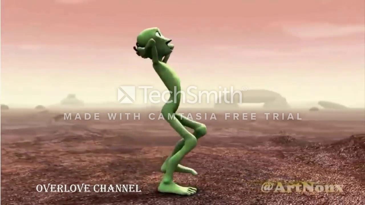 Yeşil Uzaylı Hayvanlar Alemi Komik Dublaj