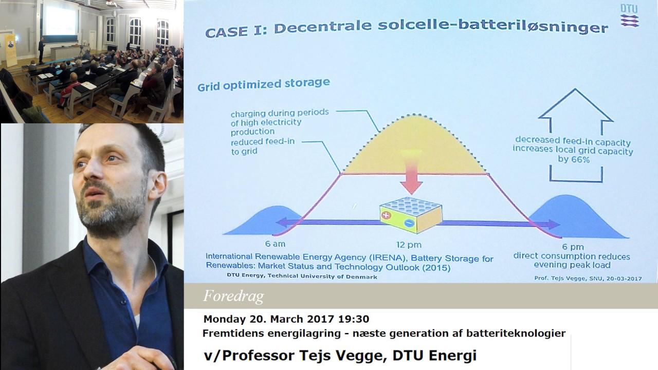 Fremtidens energilagring - næste generation af batteriteknologier