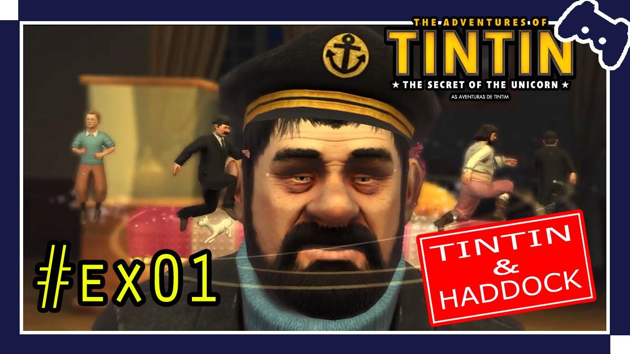 anime games - the adventures of tintin - tintin & haddock #ex01 [pc
