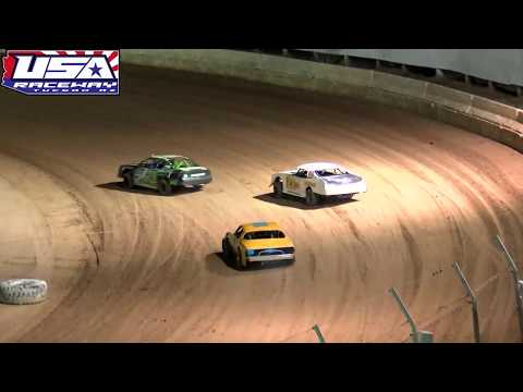 USA Raceway  IMCA Stock Car & Super Stock Heats September 14, 2019