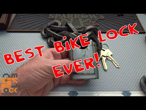 (910) World's Toughest Motorcycle Lock