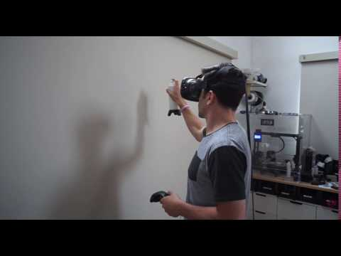 VR Spray Can And Piñata With Vive Tracker - VRScout