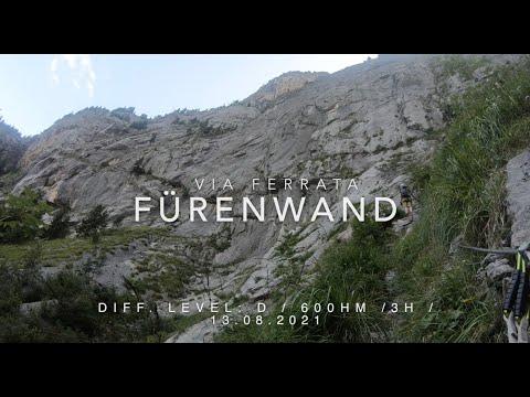 Via Ferrata Fürenwand