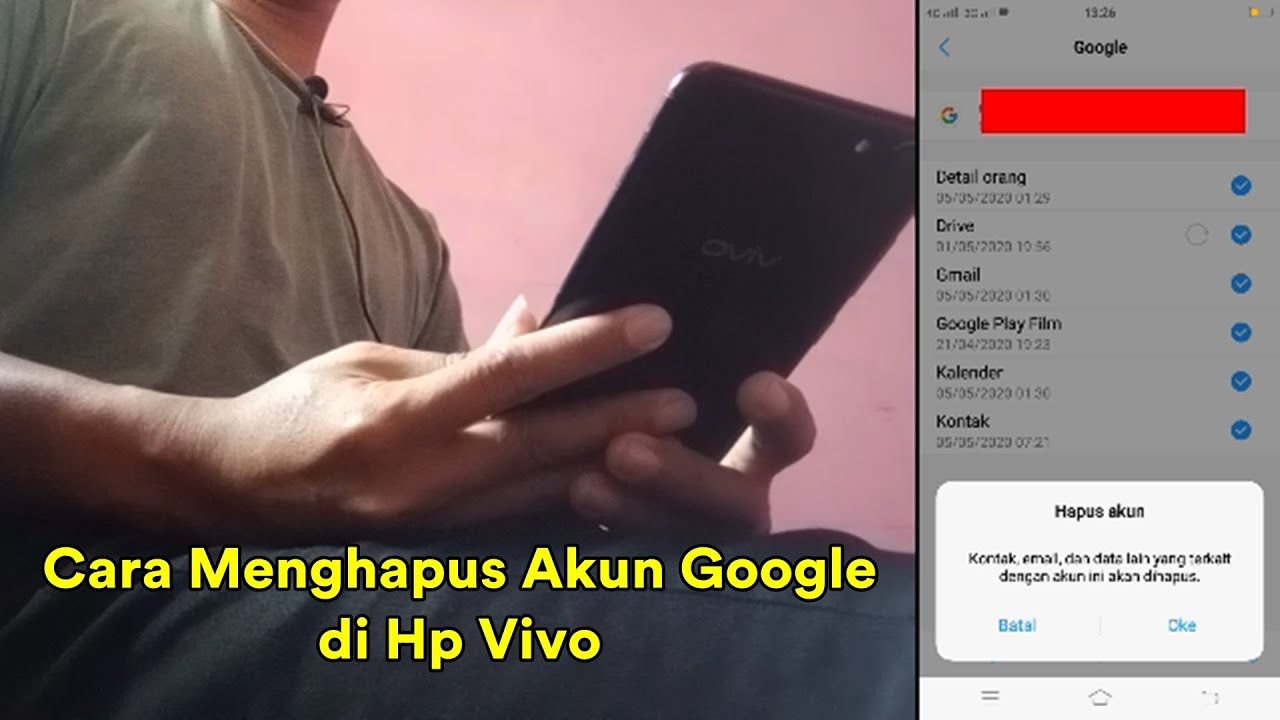Cara Keluarkan Akun Google Di Hp Vivo