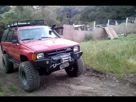 1985 toyota 4runner with marlin crawler youtube. Black Bedroom Furniture Sets. Home Design Ideas