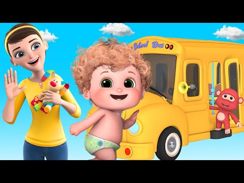 Wheels on the bus - Ultra HD 4K -  nursery rhymes and baby songs for toddler