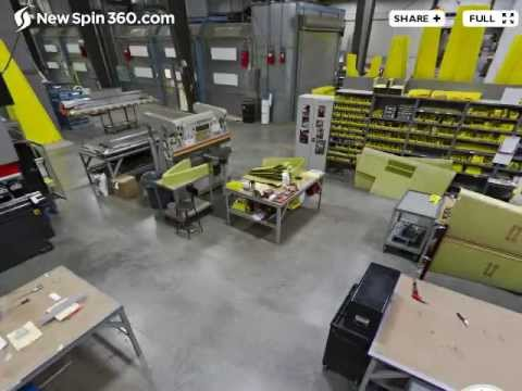 Factory Plant 2. Fabrication Assembly. 360º View