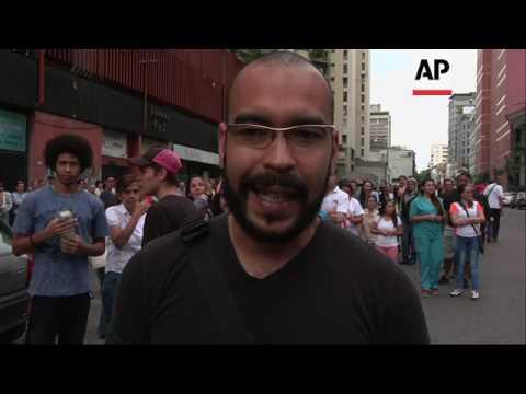 Venezuelan cast symbolic vote against Maduro