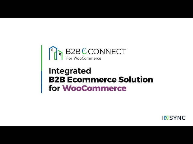 Integrated B2B Ecommerce Solution for WooCommerce