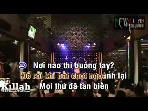 [Karaoke] Im Lặng - LK Ft. Phương Anh.FLV