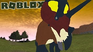 "Primal Life (Roblox) - Herbívoro, Triceratops vs. Carnotaurus ""Triceratops"" - (#8) (Gameplay PT-BR)"