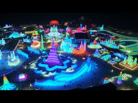 China's Ice City Harbin 2019