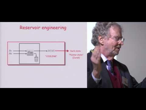 Symposium Kastler - Luiz Davidovitch - Quantum reservoir engineering: dissipation as a resource