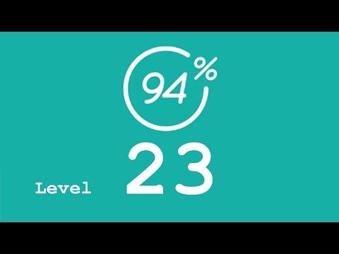 94 Prozent (94%) - Level 23 - Facebook - Lösung
