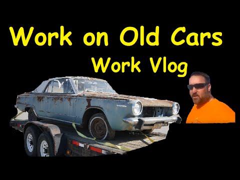 Barn Find Car Transport & Work Vlog Daily Behind The Scenes Video Blog