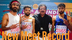 5000m Men's Final #New_Record @80th All India Inter University Athletic Championship 2019-20