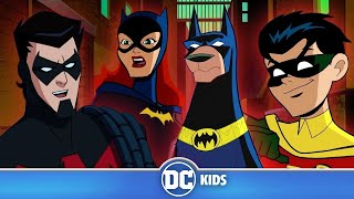 Gambar cover The Batman Family | Classic Batman Cartoons | DC Kids