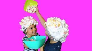 Челлендж для Детей Челлендж БИТВА ПЕНЫ Новый Челлендж Мальчики Против Девочек Funny Kids Challenge