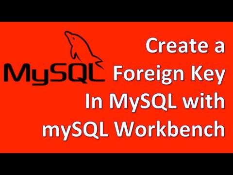 Create Foreign Key In Mysql Using Workbench