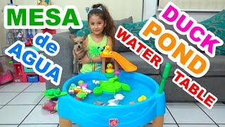 MESA DE AGUA | WATER TABLE | DUCK POND // YESLY