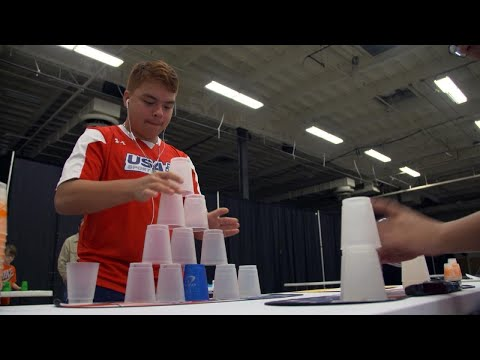 Why Cup Stacking Is the Hottest Trending Sport Right Now