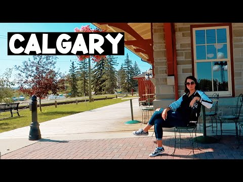 A DAY IN CALGARY I CANADA  TRAVEL VLOG