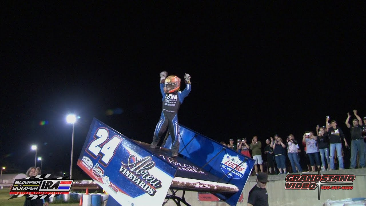Ira Sprints Rico Abreu Last To First After Flip Youtube