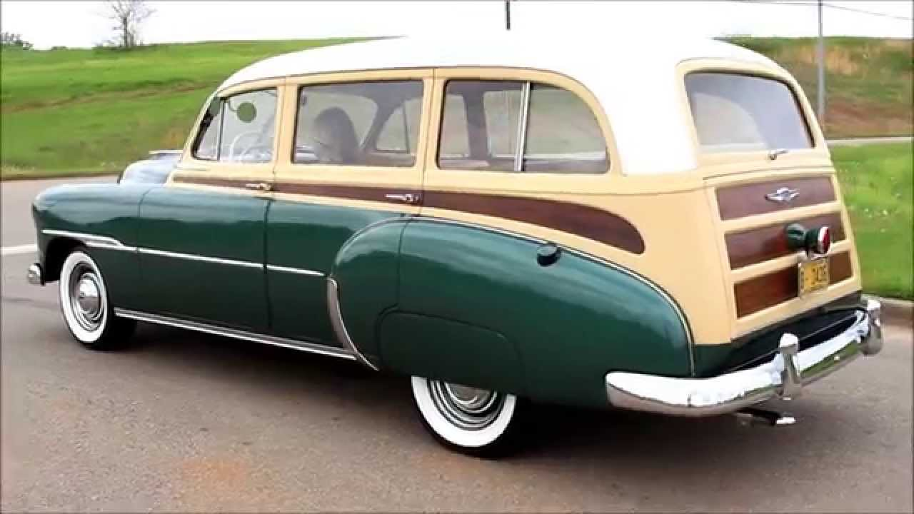 1951 Chevy Deluxe Tin Woody