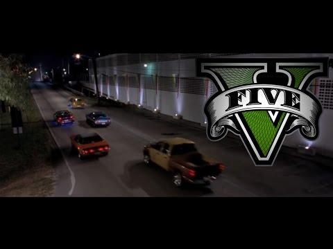 GTA V 2 Fast 2 Furious - Pink Slip Race PS4