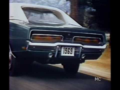1969 Dodge Charger Television Commercial