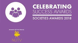 Society Awards 2018 - Celebrating Success Awards