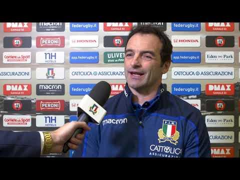 Sei Nazioni 2019: Fabio Roselli su Italia v Galles