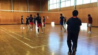 11月11日 奈良県南井町スポーツ会館にて 練習試合.