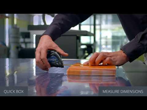 Cutting flexo plates with Kongsberg X cutting table