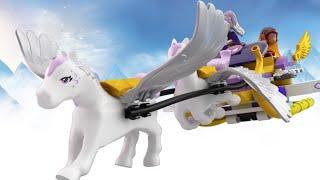 LEGO Elves - 41077 Aira's Pegasus Sleigh - Product Animation