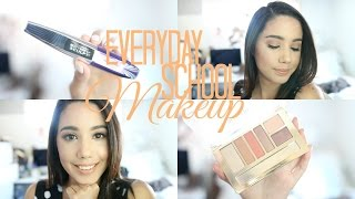 Everyday Back to School Drugstore Makeup Tutorial | 2016