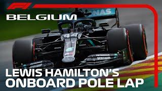 Lewis Hamilton's Pole Lap | 2020 Belgian Grand Prix | Pirelli