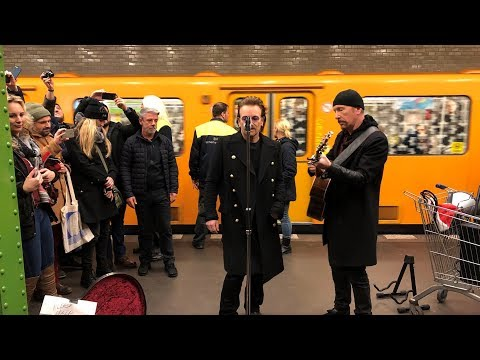 U2 - Get Out Of Your Own Way / Sunday Bloody Sunday / One - 2017-12-06 Berlin