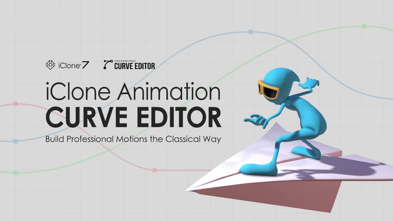 iClone Animation Curve Editor - Demo Video