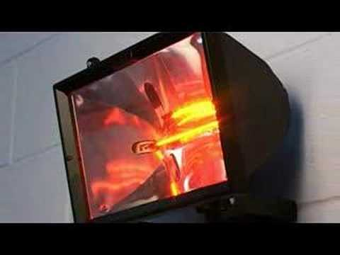 Electric Halogen Patio Heater (wall Mounted)   YouTube